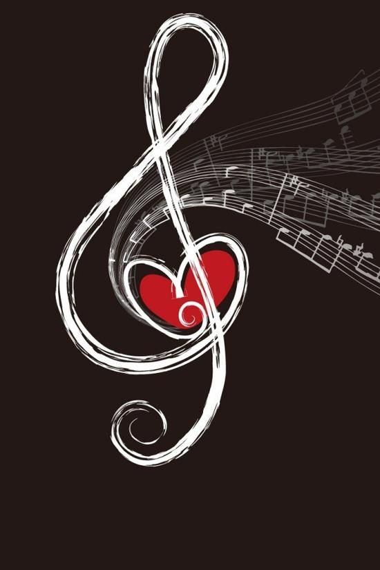 Love Note Music Art Musical Art Music Notes