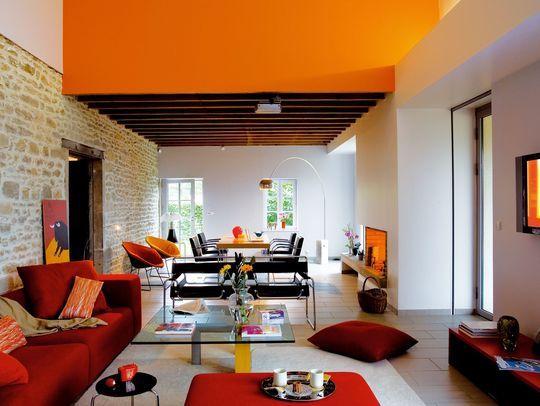 Aménagement salon : où mettre son canapé ?   Les salon, Longueur et ...