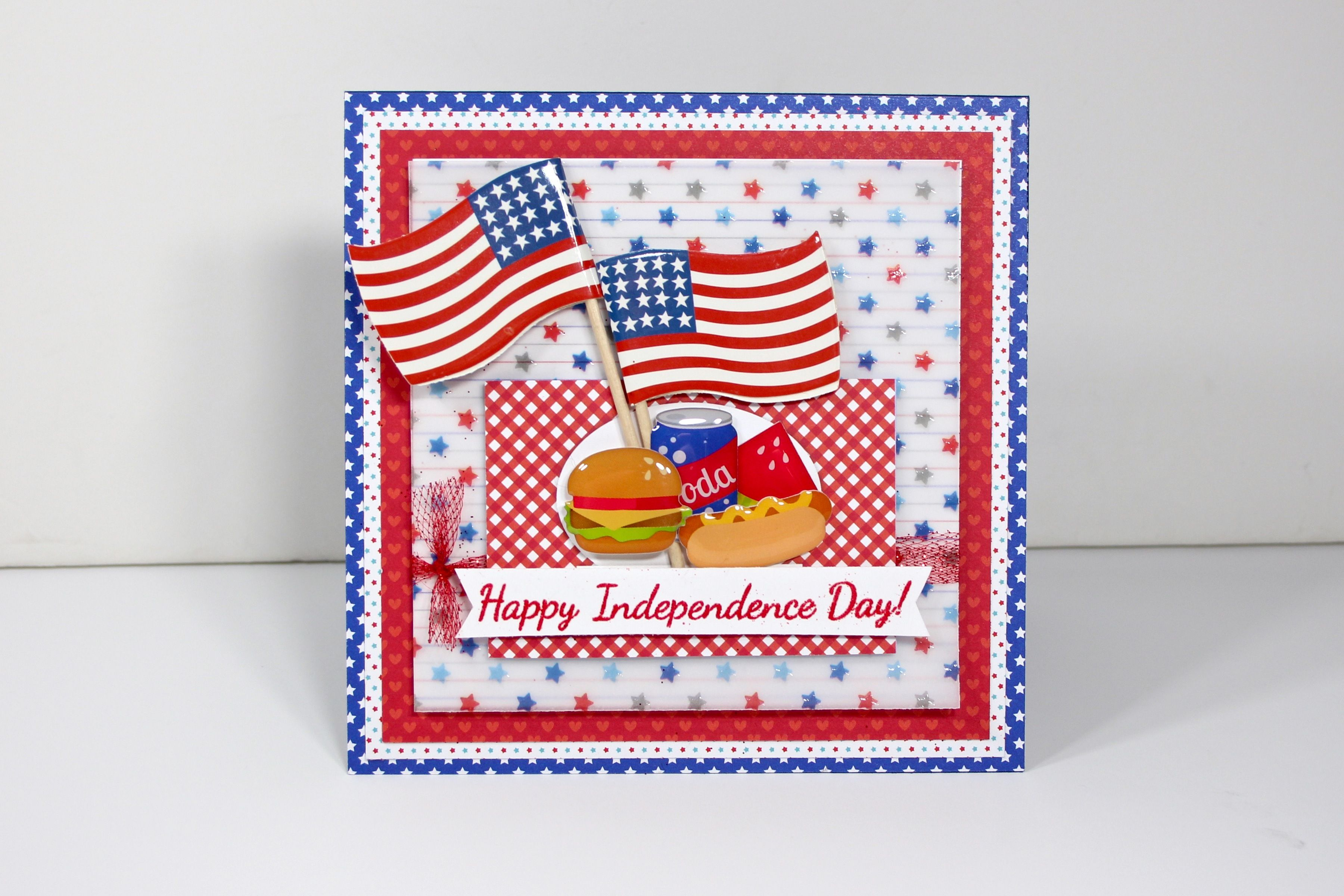 Happy Independence Day - Scrapbook.com - Fun 4th of July card!