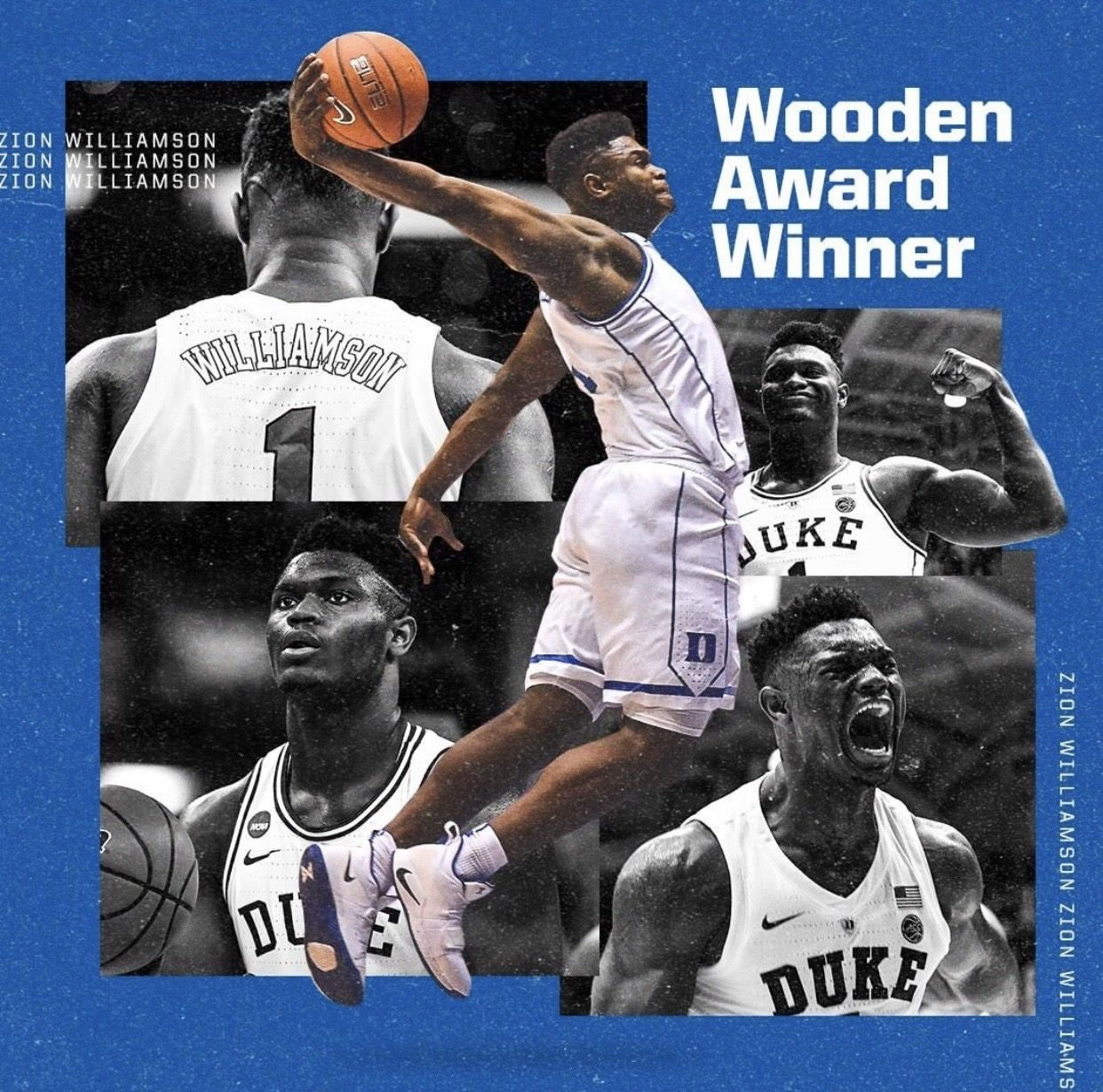 Zion Williamson Basketball players nba, Duke blue devils