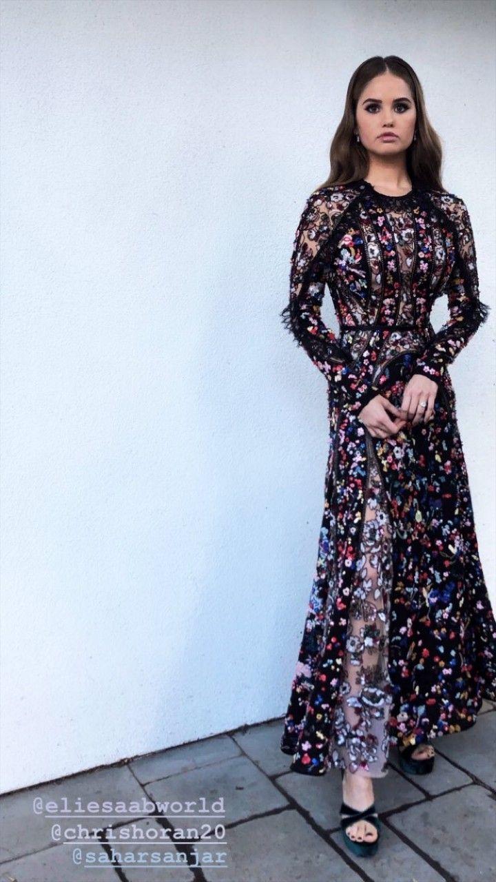 Pin by Lucía 💛 on Debby Ryan Maxi dress, Long sleeve