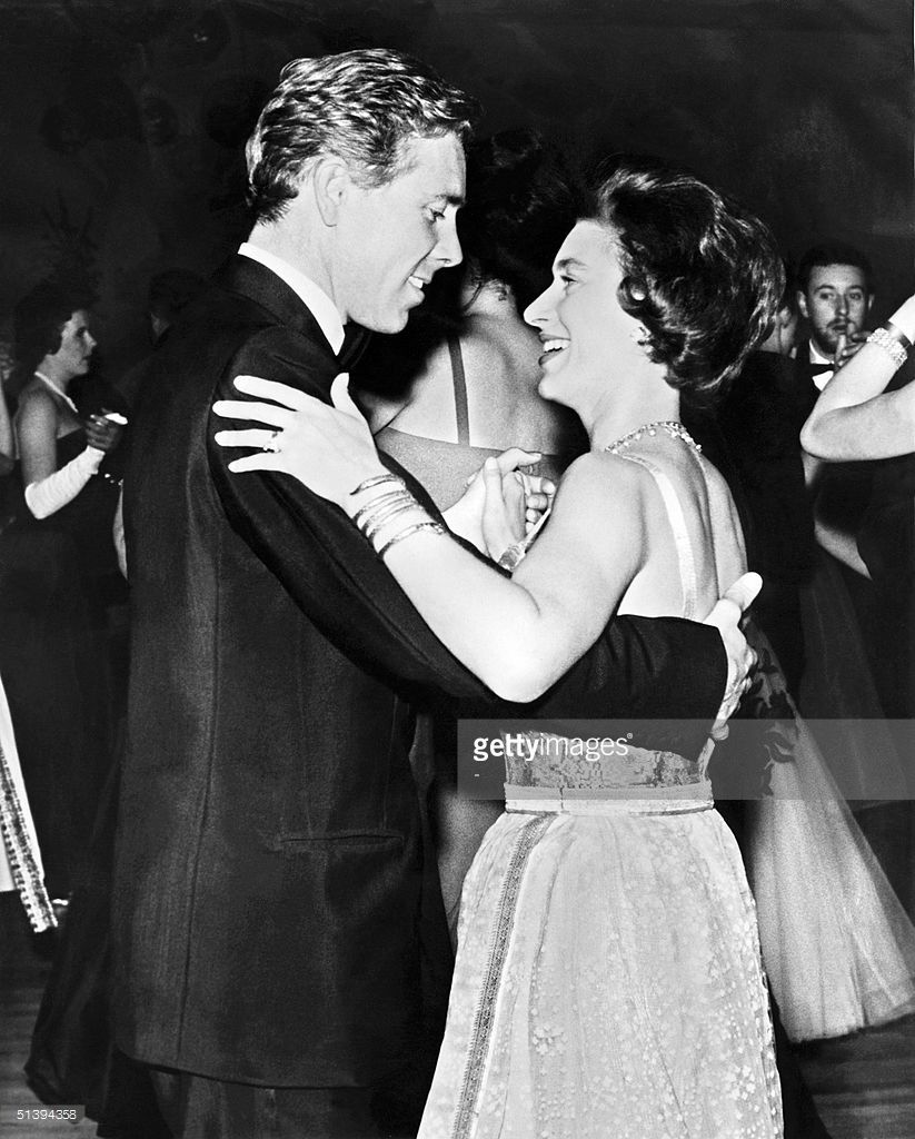 Princess Margaret The Younger Sister Of Britain S Queen Elizabeth Ii Dances 16 October 1963