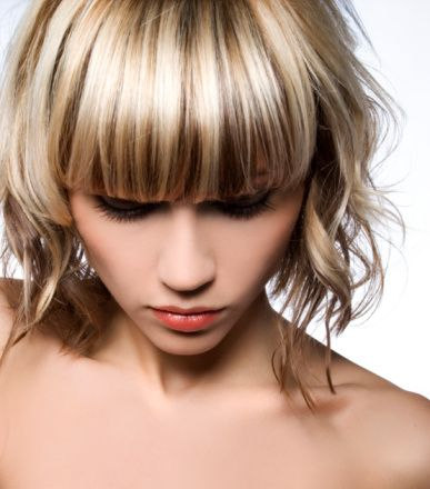 Best hair color ideas to get the right color for yourself bangs best hair color ideas to get the right color for yourself hair color highlightsheavy highlightspeekaboo solutioingenieria Images