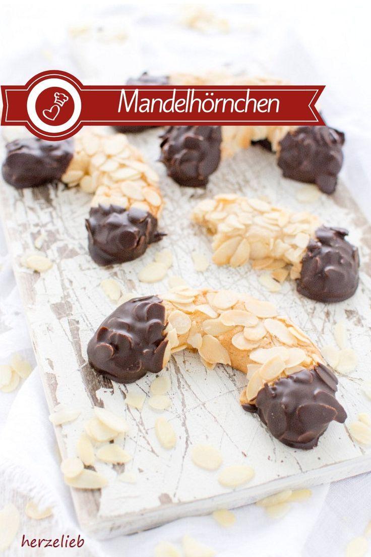 Mandelhörnchen - Rezept für den Kuchenklassiker