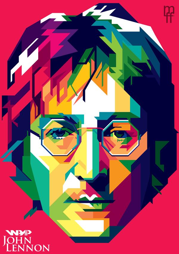John Lennon By Lmfarhan Ferdiansyah Beatles Http Dunway Com Beatles Artwork Pop Art Portraits Beatles Art
