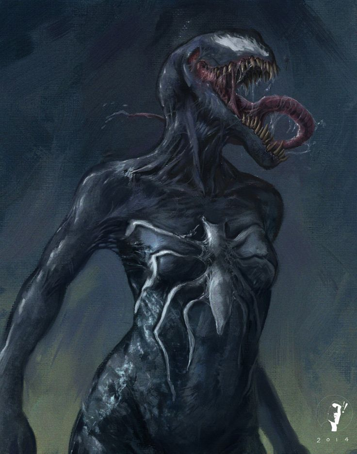 #Venom #Fan #Art. (Girl with a touch of Venom) By: ISignRob. (THE * 5 * STÅR * ÅWARD * OF: * AW YEAH, IT'S MAJOR ÅWESOMENESS!!!™)[THANK Ü 4 PINNING!!!<·><]<©>ÅÅÅ+(OB4E)