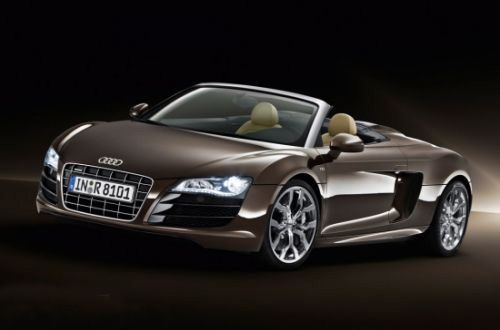 This one has beautiful retro appeal  its the Audi R8 V8