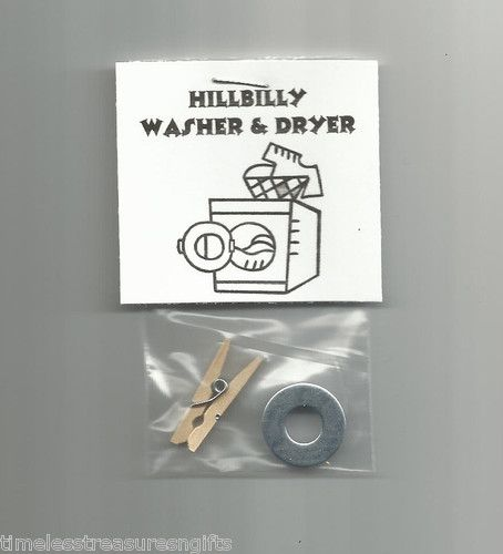 Gag Gifts For Christmas Party: Details About NEW Hillbilly Washer And Dryer Novelty Gag
