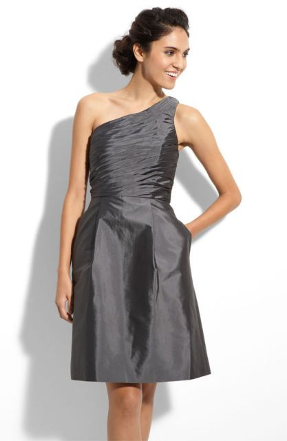 6dd2db56aa6 Help finding a grey dark granite pewter colored bridesmaid dress!   wedding grey  bridesmaid dress MLDress (Monique Lhuillier Maids)