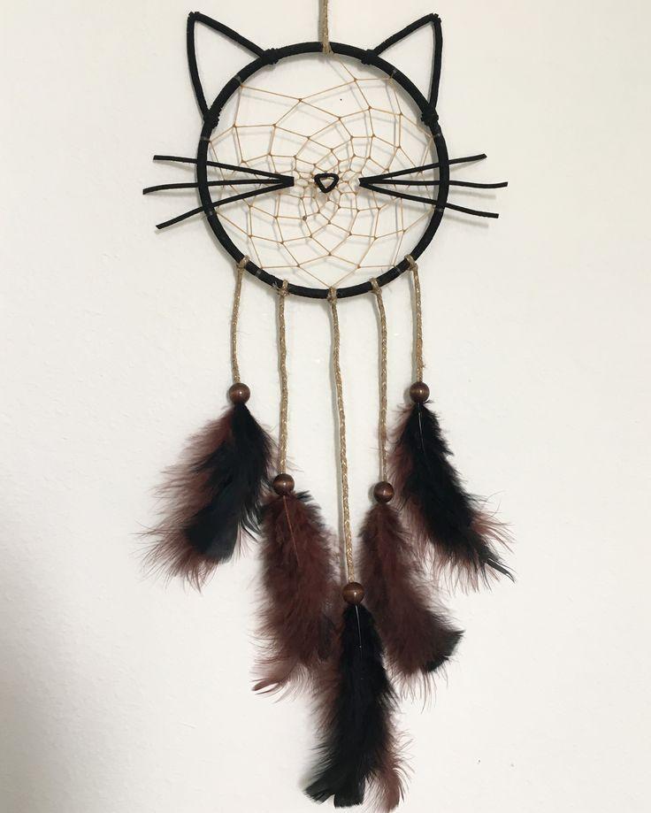 Kitty cat dream catcher - #cat #catcher #DREAM #fabriquer #kitty #dreamcatcher