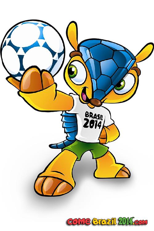 Fifa World Cup 2014 Wm Maskottchen Fifa Weltmeisterschaft