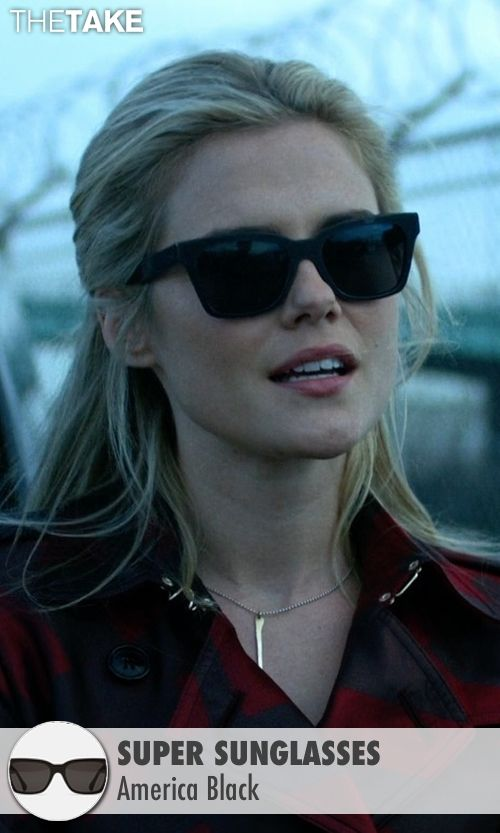 0e9ff31215 Super Sunglasses America Black as seen on Trish Walker in Jessica Jones |  TheTake