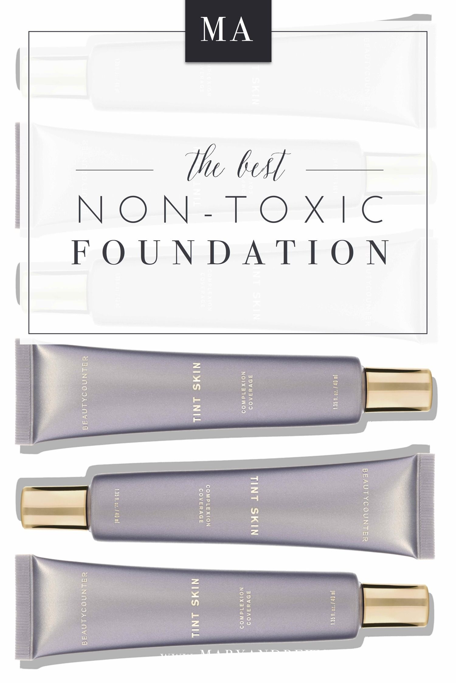 The Best NonToxic Foundation The first and only