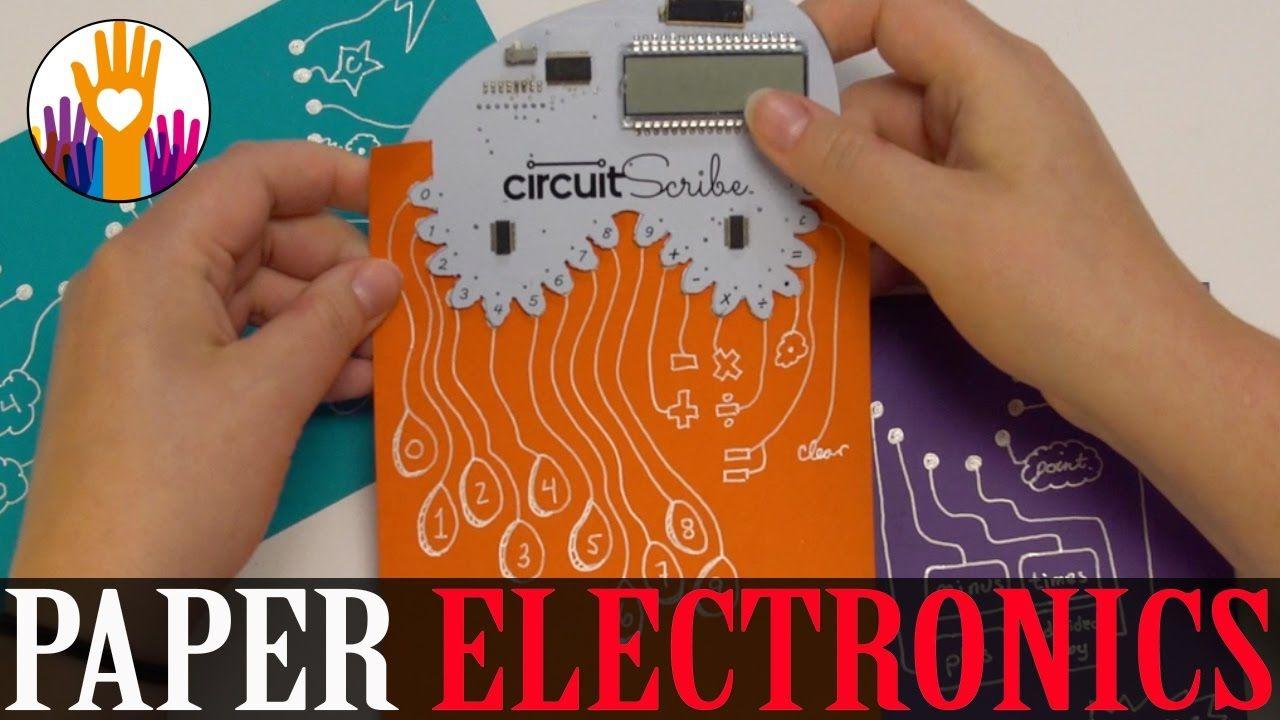 Circuit Scribe Diy Electronic Kits Crowdfunding En 2019