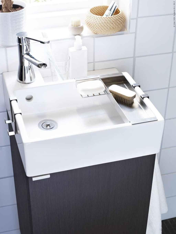 19 Impressive Tiny Bathroom Remodel Ideas Small Bathroom Sinks Tiny House Bathroom Small Space Bathroom