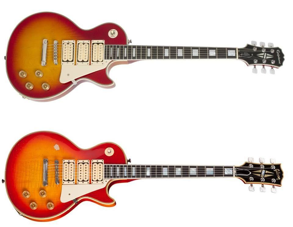 Epiphone Ace Frehley Budokan Les Paul Custom Gibson Ace Frehley