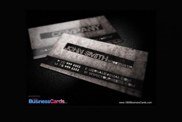 Modern grunge business card templates psd httpsgooloc professional grunge dark business card template set in psd reheart Gallery