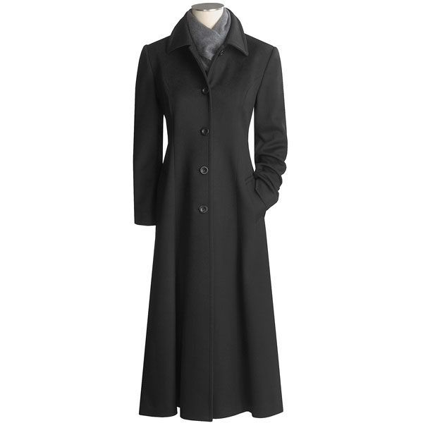 Jonathan Michael Fit and Flare Long Coat - Cashmere (For Women ...