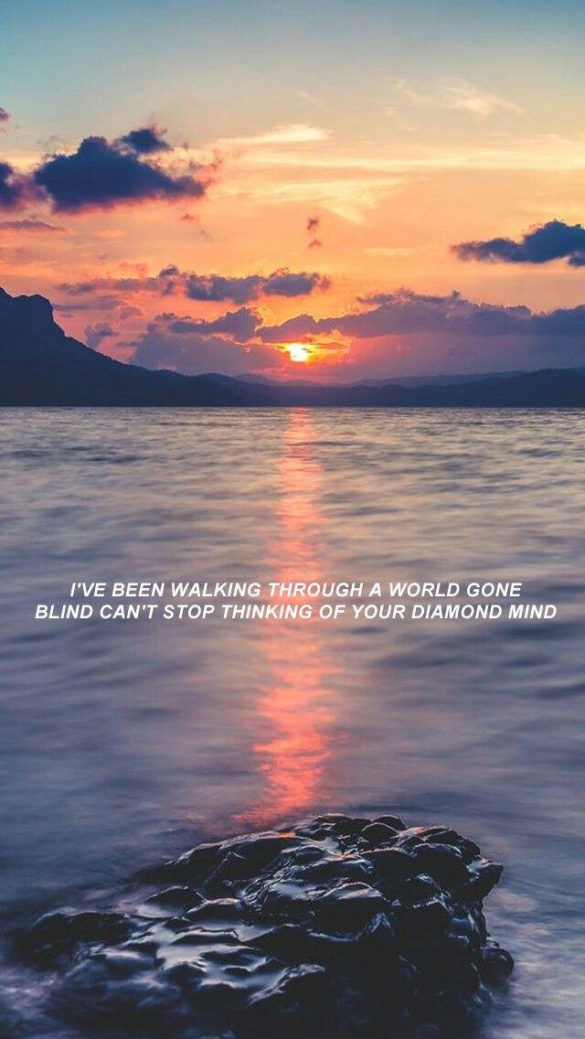 Ocean Eyes Billie Eilish Chelsochist Billie Eilish Ocean Eyes Song Lyric Quotes Song Lyrics Wallpaper