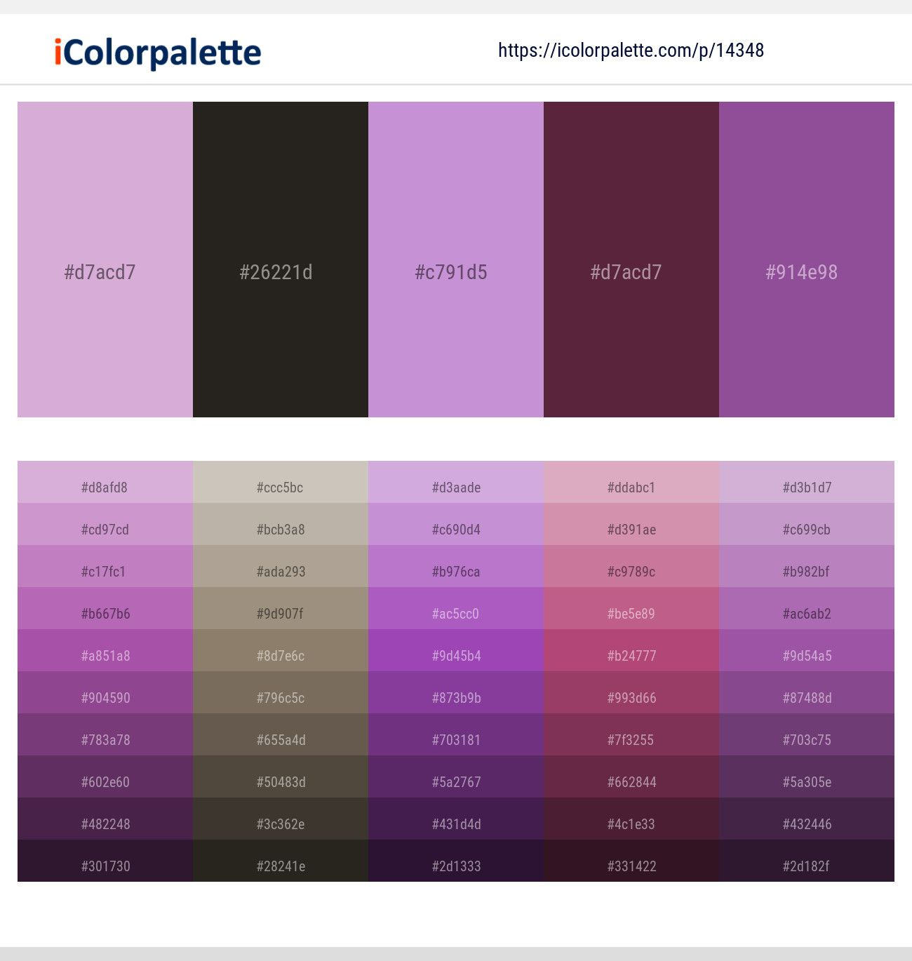 Lilac Zeus Light Wisteria Tawny Port Affair Color Scheme Icolorpalette In 2020 Violet Color Palette Lavender Color Palette Purple Color Palettes
