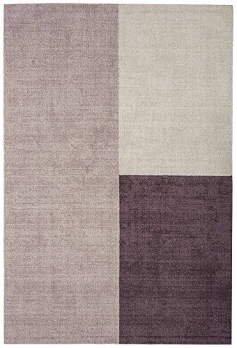 Teppich modernes Design BLOX RUG HEATHER 160 cm x 230 cm 100 Wolle