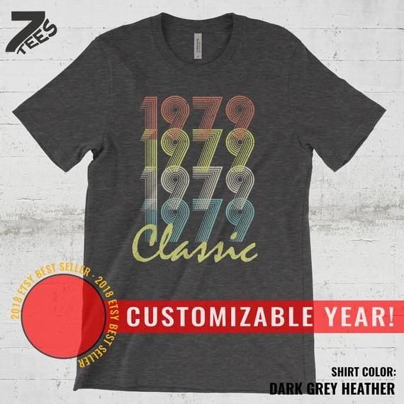 40th Birthday Gift Shirt Men Gifts For Women