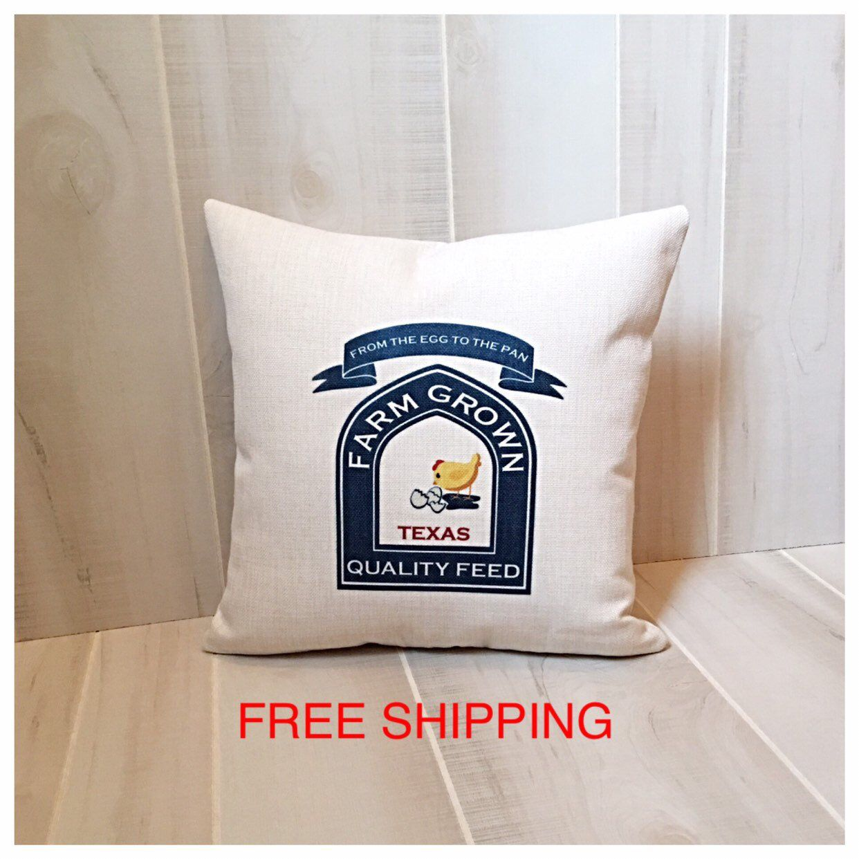 Excellent Feed Sack Throw Pillow Accent Farmhouse Pillow Painted Gmtry Best Dining Table And Chair Ideas Images Gmtryco