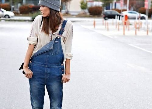 recognized brands compare price search for official Taking it back in the day with the one strap. #overalls ...