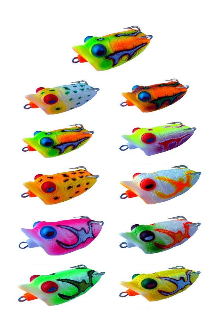 Plastic Material Frog Fishing Lure