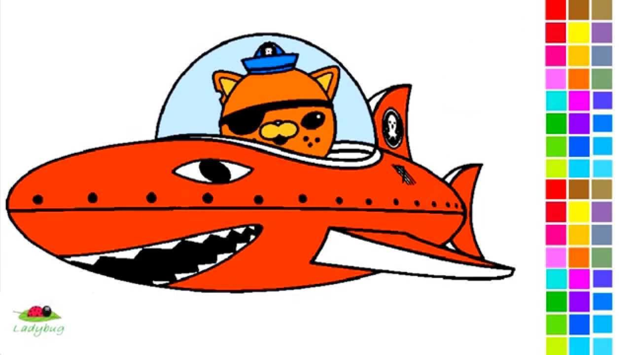 The Octonauts - Coloring Pages / Part 3 | The Octonauts Coloring ...