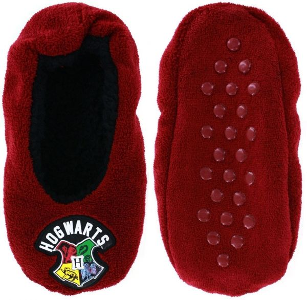 Adult Size Harry Potter Hogwarts Cozy Slippers Socks