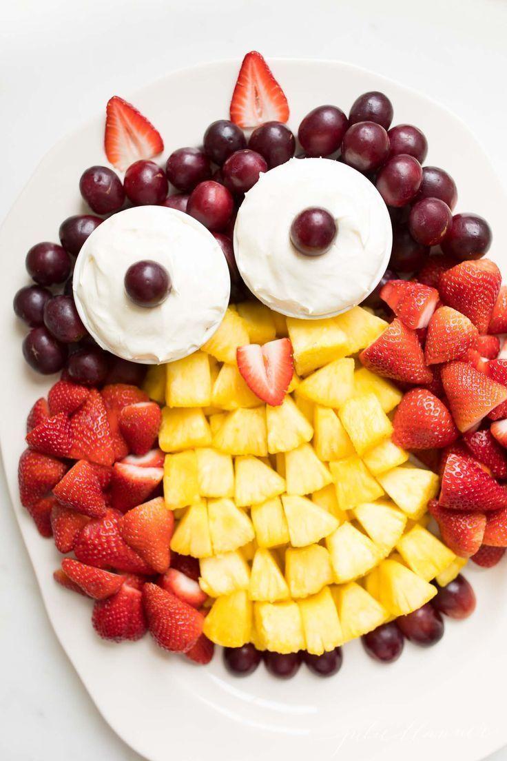 Fruit Plate (Fruit Platter Ideas)