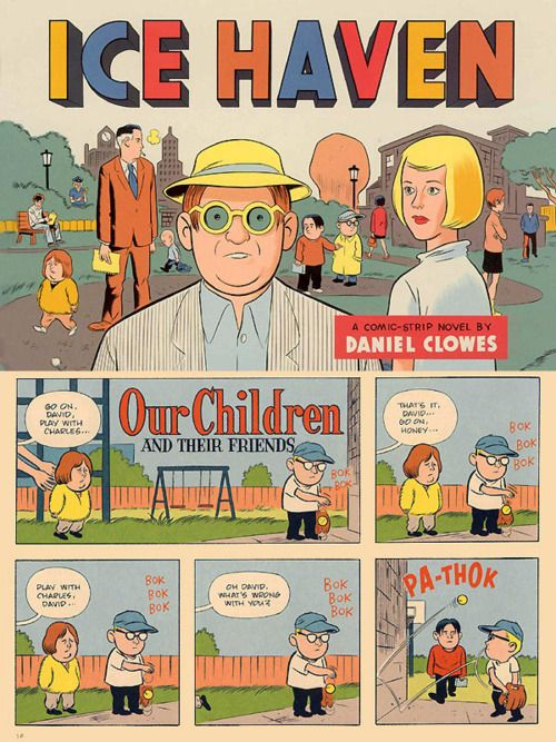 """Ice Haven"" by Daniel Clowes"