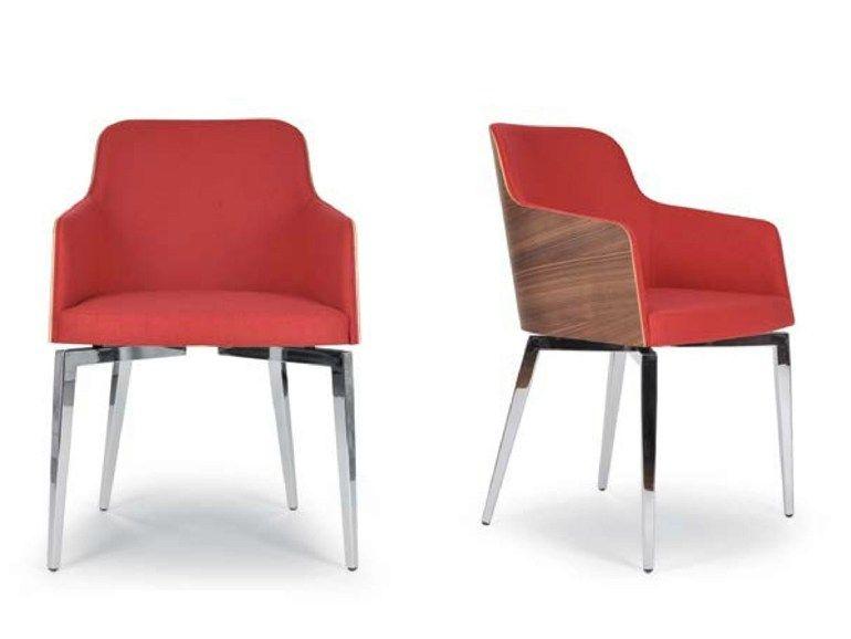 Chaise Rembourree Avec Accoudoirs Marlene Quadra Chaise Rembourree Riccardo Rivoli Design Furniture Home Decor Decor