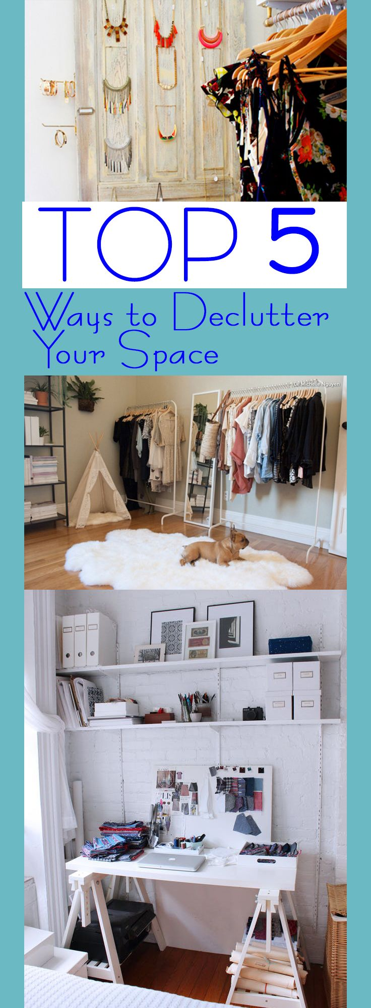 Top 5 Ways to Declutter Your Space – Random Somethings