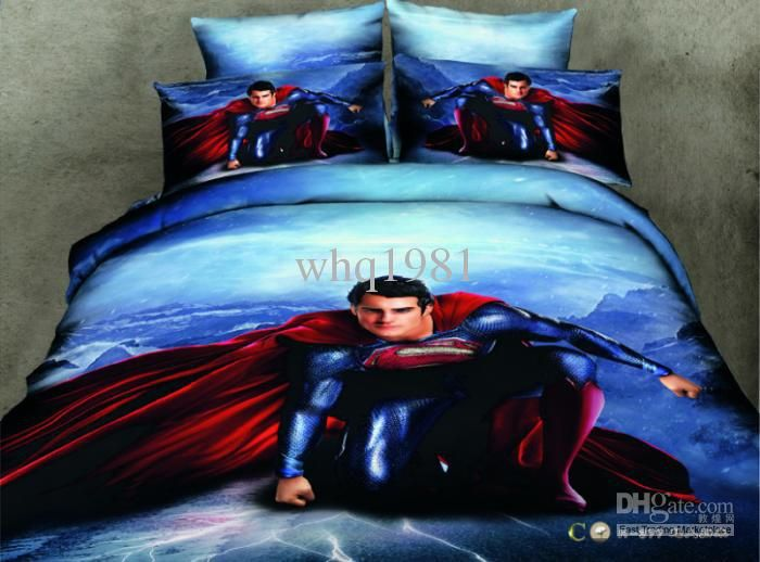 Wholesale 3d Bedding Set Queen Buy 3d Superman Bedding Set Queen
