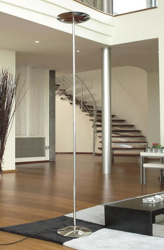 Pujol Gregal Die LED Stehleuchte mit Dimmer sorgt für eine - leuchten fürs wohnzimmer