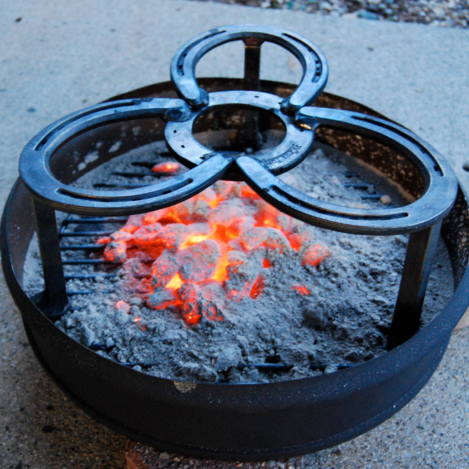 campfire pot stand heavy duty campfire cooking fire pits grill