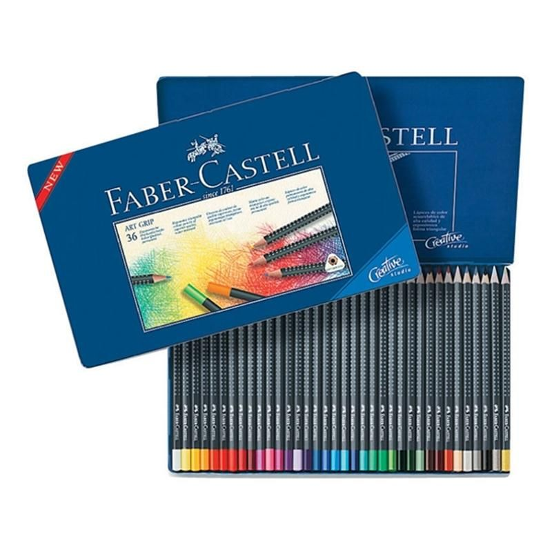 Faber Castell Artgrip Colouring Pencils 36 Hobbycraft Material