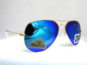 59a9056ed8c New Rayban Aviator RB3025 Sunglasses Large Metal Cristal Blue Diamond Hard  Sunglass