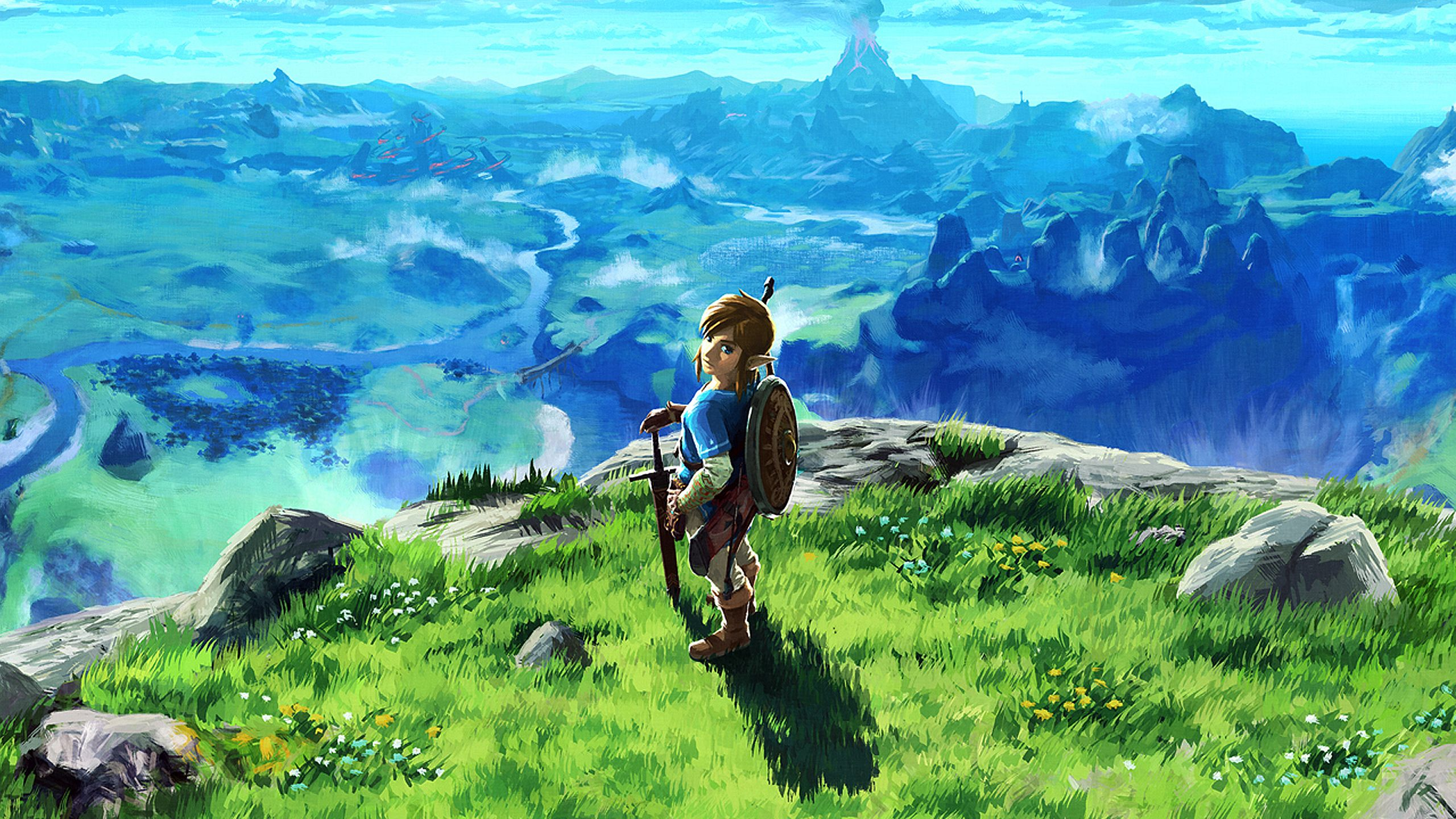 1080p & 1440p Nintendo Wallpapers. Retoned darkened and