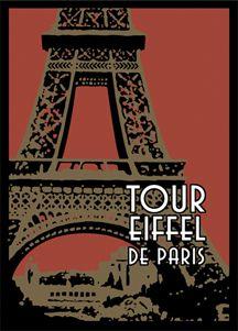 Eiffel Stiffel. I decoupage this image a lot.