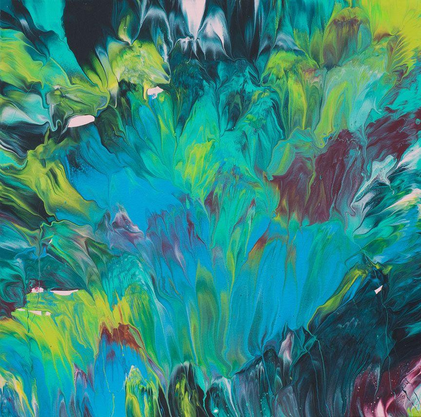 Opening Original Painting 24 X 24 Gaia Paintings In