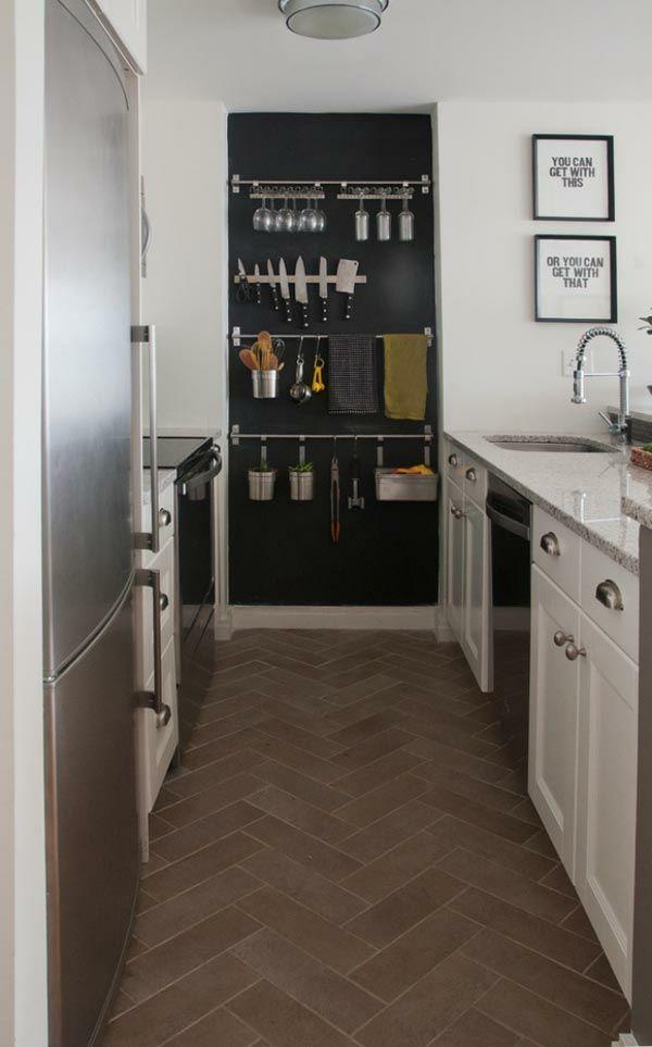Funktionelle und praktische Küchenlösungen für kleine Küchen Mini - ikea kleine küchen