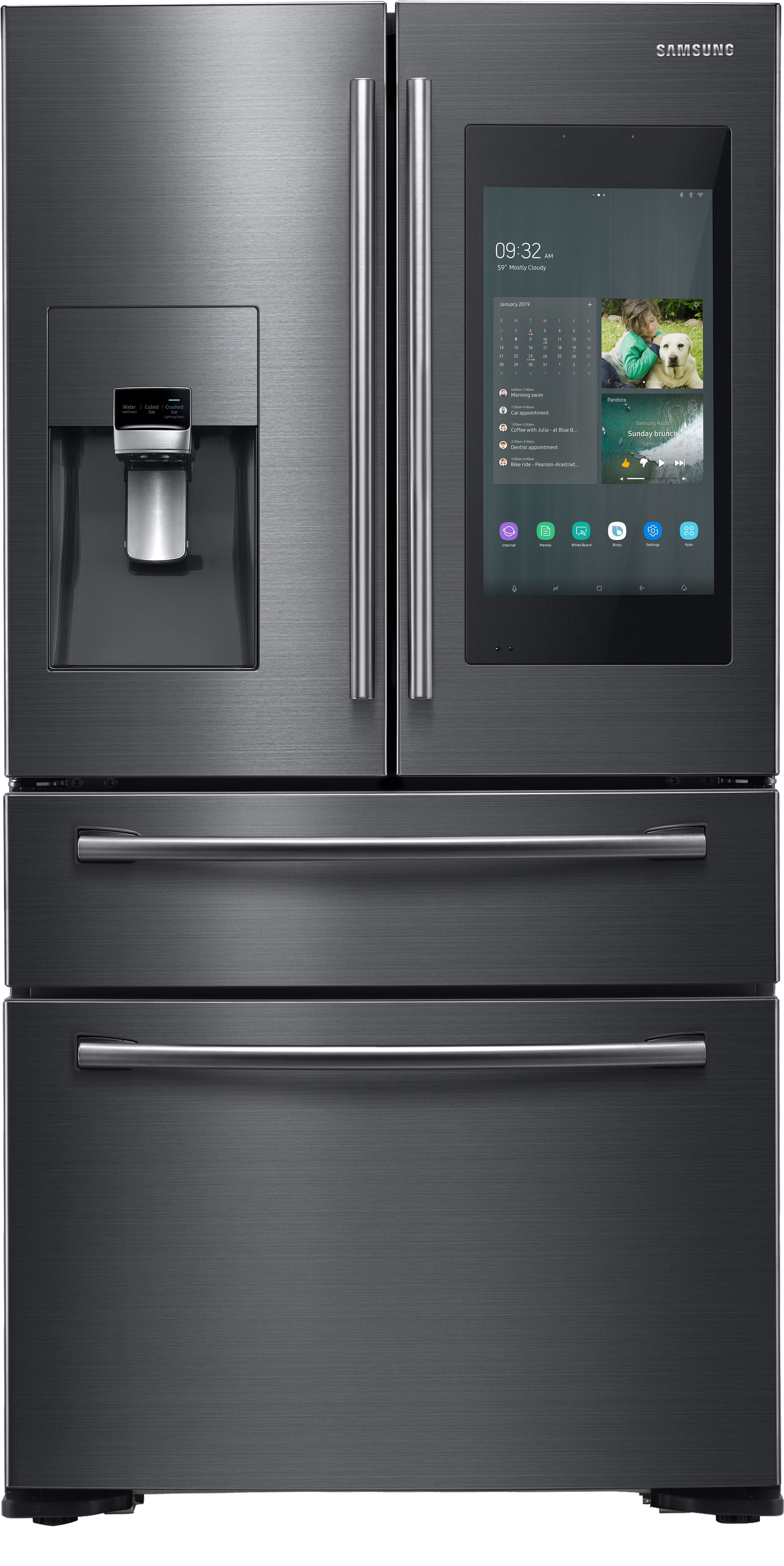 Samsung Updates Family Hub For Connected Samsung Wallpaper Samsung Kitchen Samsung Fridge Samsung Kitchen Appliances