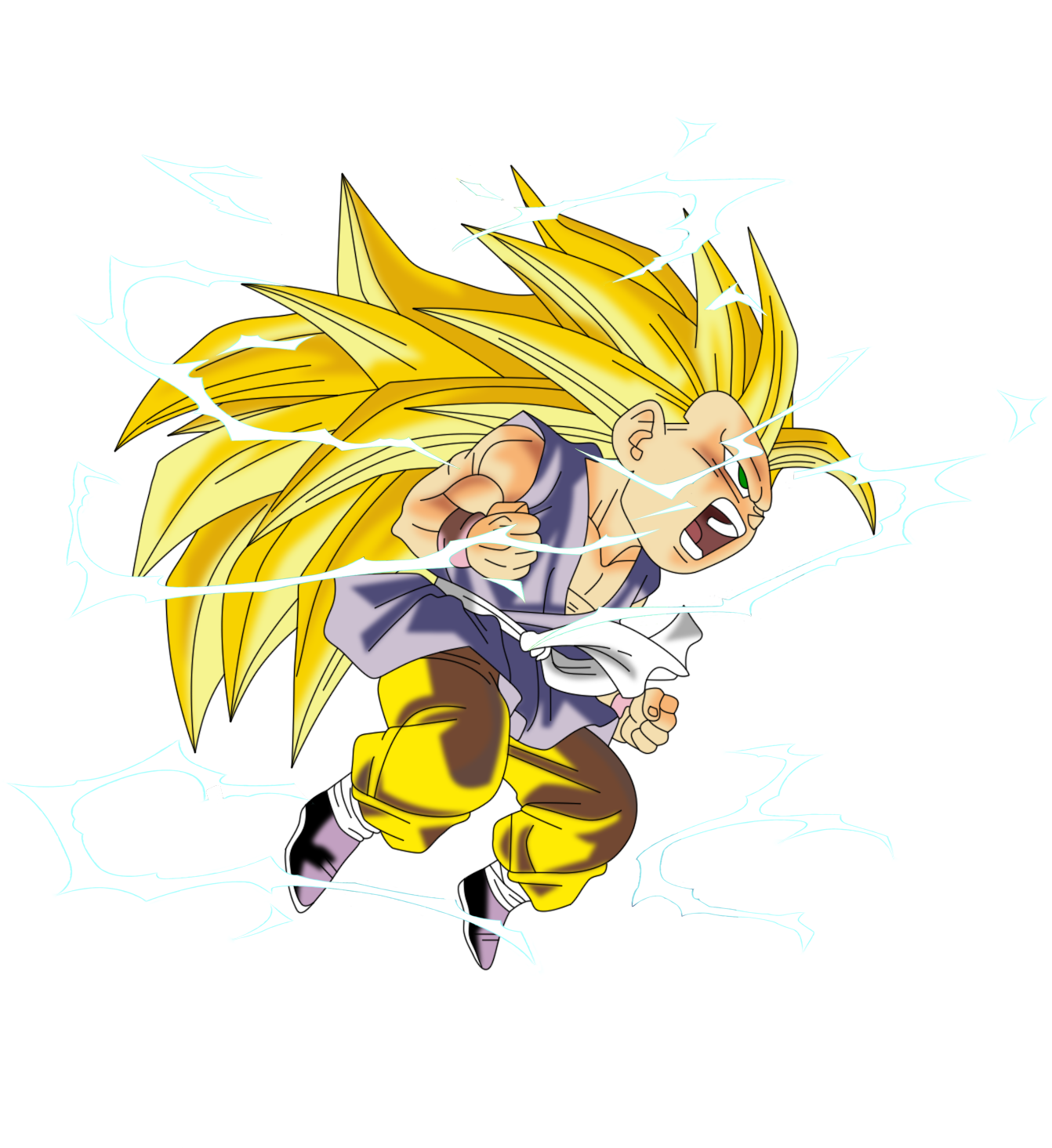 Kid Goku Ssj3 Anime Wallpapers Goku Kid Goku Dragon Ball