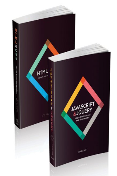 Web Design With Html Css Javascript And Jquery Set By Jon Duckett Wiley Learn Web Development Free Web Design Html Css