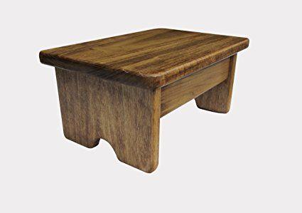 Groovy Foot Stool 6 Tall Poplar Wood Maple Stain Made In The Usa Creativecarmelina Interior Chair Design Creativecarmelinacom