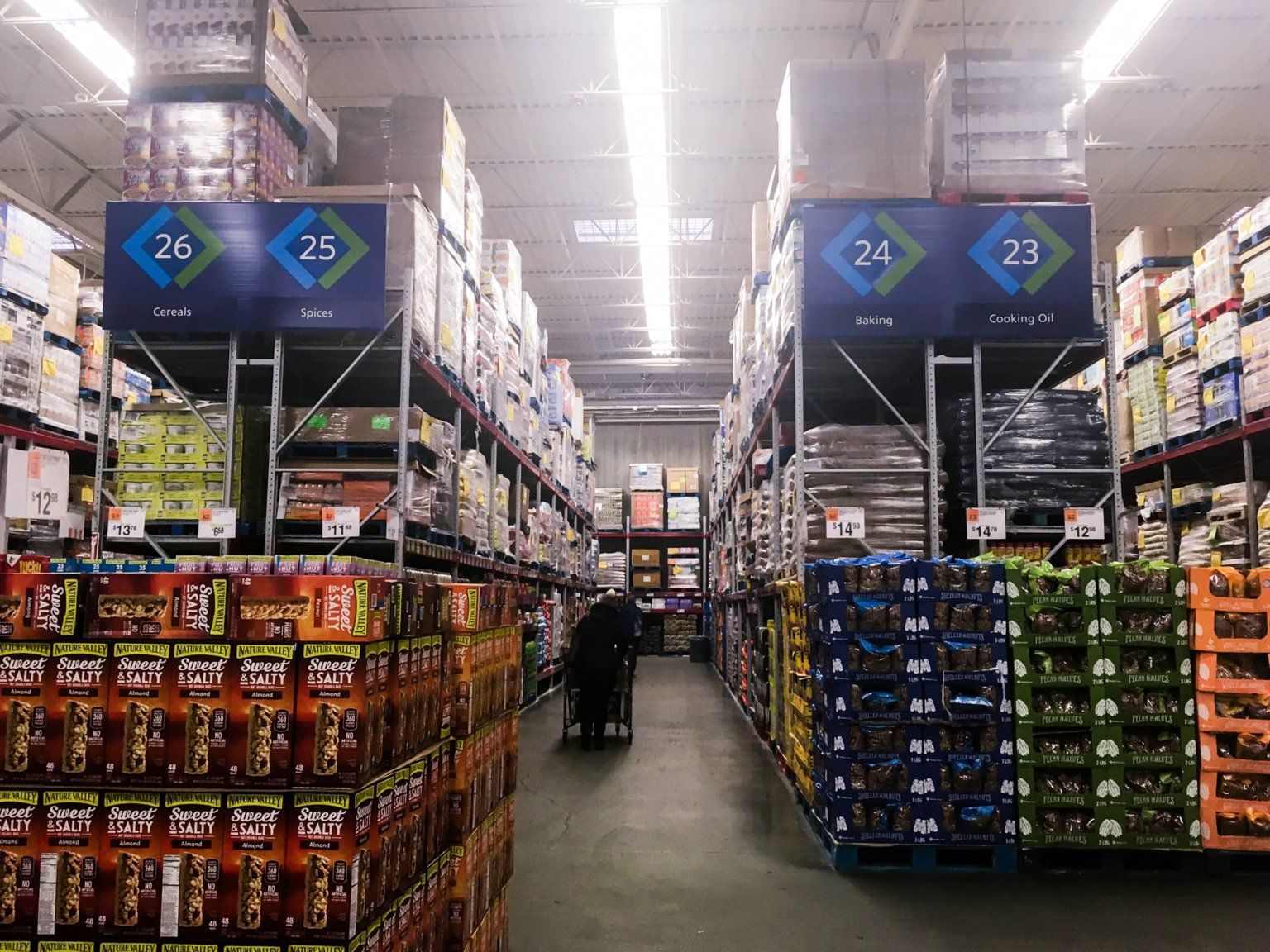 we shopped at costco and sam s club to
