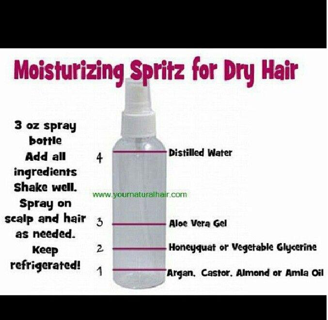 Moisturize Natural Hair Styles Natural Hair Diy Dry Hair